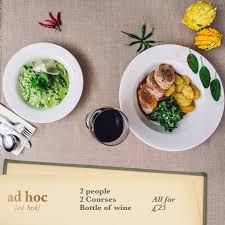 ad hoc cuisine ad hoc glasgowadhoc
