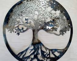metal tree of etsy