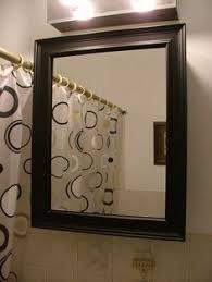 Mirrored Medicine Cabinet Doors Bathroom Mirror Ideas Diy For A Small Bathroom Medicine