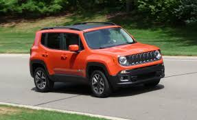 car jeep 2016 2016 jeep renegade review car and driver