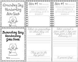 groundhog day handwriting freebie happy teacher happy kids