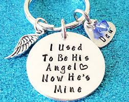 In Memory Of Keychains Memorial Keychain Gone Fishin In Heaven Memory Of Dad Fish