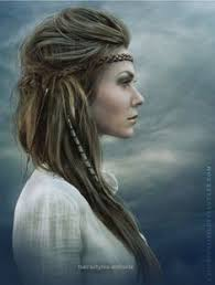 birthing hairstyles viking hairstyle with braids and beads really cool hair