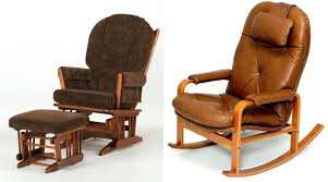 Leather Rocking Chair Rocking Chair At Modern Interior