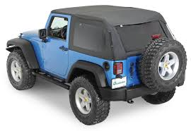jeep wrangler 2 door sport rage products 109935 sailcloth trail top with tinted windows in