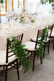 and groom chairs and groom chairs with greenery elizabeth designs the