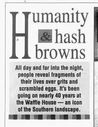 retro charlotte waffle house s 1993