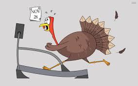 thanksgiving cartoon jokes thanksgiving turkey treadmill funny wallpapers