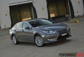 lexus 2014 2014 lexus es 350 sports luxury review video performancedrive