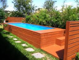 Backyard Above Ground Pool Ideas Above Ground Pool Ideas Backyard Beautiful Swimming Wooden Also