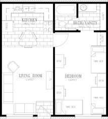 500 Square Feet Room by Arpad Housing U2013 Floor Plans