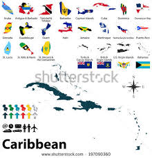 carribbean map caribbean islands map stock images royalty free images vectors