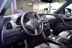 infiniti interior infiniti qx70s design interior indian autos blog