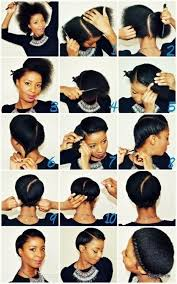 black hair styles to wear when your hair is growing out 21 five minute hairstyles for natural hair that lazy girls will
