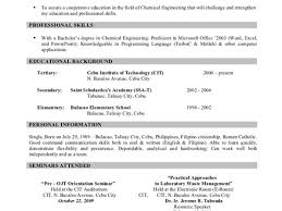 8 a sample of a resume resume format sample more examples