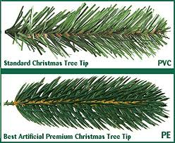 best artificial tm 8ft premium real feel hinged tree