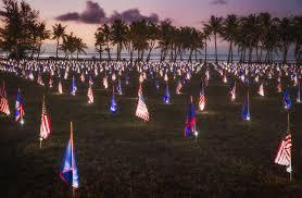 Guam Flag Park To Host Memorial Day Flag Display At Asan Beach War In The