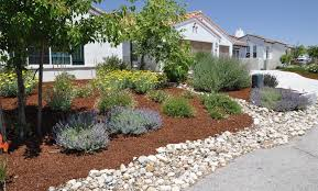 Front Yard Gardens Ideas Shining Front Yard Landscaping Ideas With Stones Best 25 Rock On