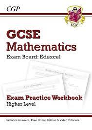 gcse maths edexcel exam practice workbook with answers u0026 online