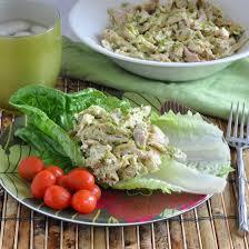 pesto chicken salad nutritious eats