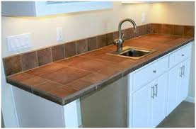 kitchen countertop tile ideas popular kitchen countertop material overview with additional