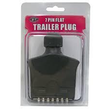 kt cables trailer plug 7 pin plastic flat supercheap auto