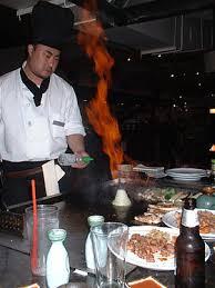 restaurant japonais cuisine devant vous teppanyaki wikipédia