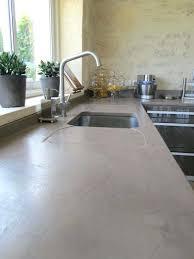 prix béton ciré plan de travail cuisine plan de travail beton cire prix beton cire pour plan de travail