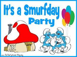 109 smurf images birthday ideas birthday