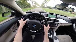 kereta bmw 5 series bmw 3 series 2015 320d pov test drive gopro youtube