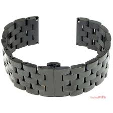 bracelet clasp replacement images 24mm replacement stainless steel bracelet metal band with push jpg