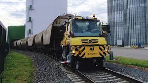 mercedes unimog cer mercedes unimog gets even cooler with railroad ready model