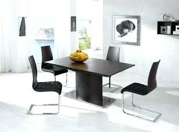 contemporary black dining room sets white modern chair white modern dining room sets image of black