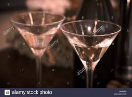 martini glasses clinking two glasses champagne christmas present stock photos u0026 two glasses