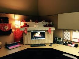 my christmas ready office cubicle decor i used boxes and gift