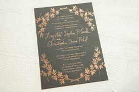 foil wedding invitations foil wedding invitations pike press