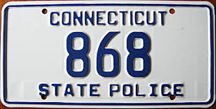 Ct Vanity License Plate Lookup Stp Connecticut State Police