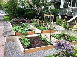 Front Yard Garden Ideas Garden Front Yard Fighting To Keep Front Yard Veggie Garden
