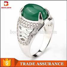 emerald rings wholesale images 2016 new fashion green stone one finger rings wholesale 925 silver jpg