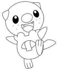 coloring pages coloring pages pokemonoshawotts allcolored