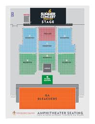 Red Rocks Seat Map Events Thunder Valley Casino Resort