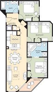 Myrtle Beach 3 Bedroom Condo Wyndham Ocean Boulevard 3 Bedroom Floor Plan U2013 Home Plans Ideas