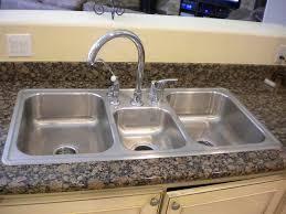 Kitchen Sink Fitting Kitchen Sink Install Home Interior Ekterior Ideas