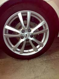 2014 lexus is250 wheels lexus is250 oem wheels ebay