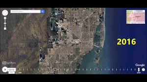 Miami Florida Map by Miami Florida Urban Sprawl Time Lapse Youtube