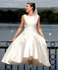 robe de mariã e classique robe de mariage rétro style ées 50