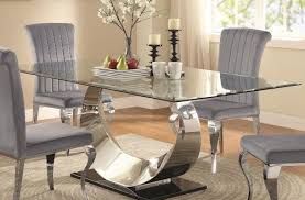 Glass Dining Room Furniture Extraordinary Dining Great Table Sets Round Glass On Value At City
