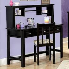 Black Student Desk With Hutch Laguna Student Desk And Hutch In Black Cherry Nebraska Furniture
