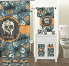 vintage grunge halloween tissue box cover personalized potty