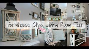 farmhouse livingroom farmhouse style living room tour 2017 living room design makeover